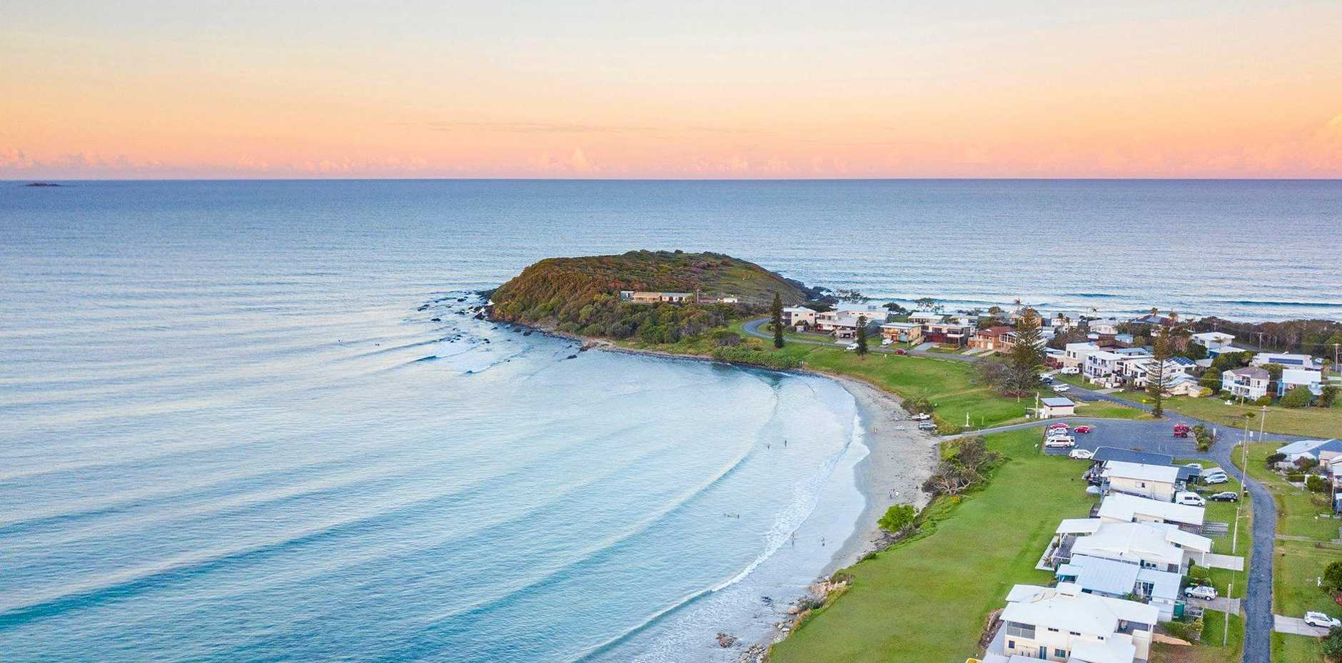 AUCTION: this Arrawarra Headland home will be auctioned on Saturday.