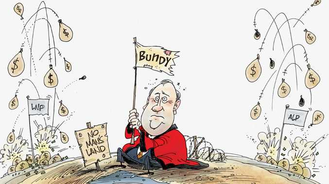 Welcome to Bundy: Political no man's land