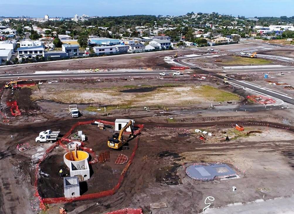 The Maroochydore city centre development site.