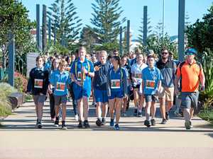 Students take on global walk for water