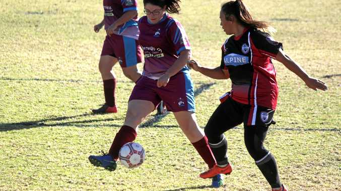 Sides can't be split in impressive Ladies tie