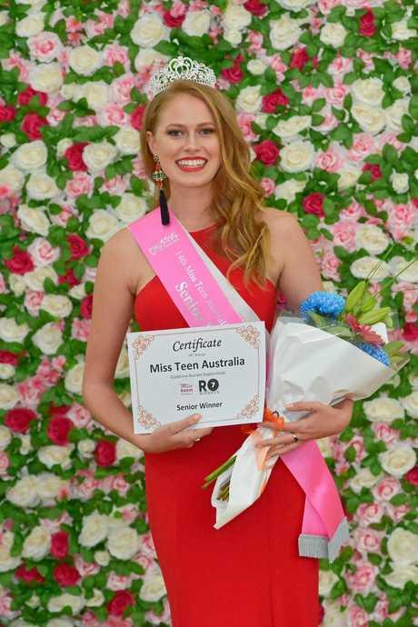 Anelia du Plessis  - The 14th Miss Teen Australia Gladstone Regional Finals.