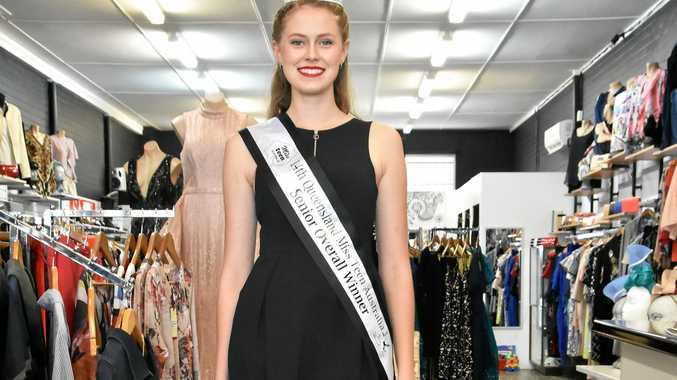 Tannum Sands' Anelia du Plessis will compete as a finalist at Miss Teen Australia in Townsville in May.