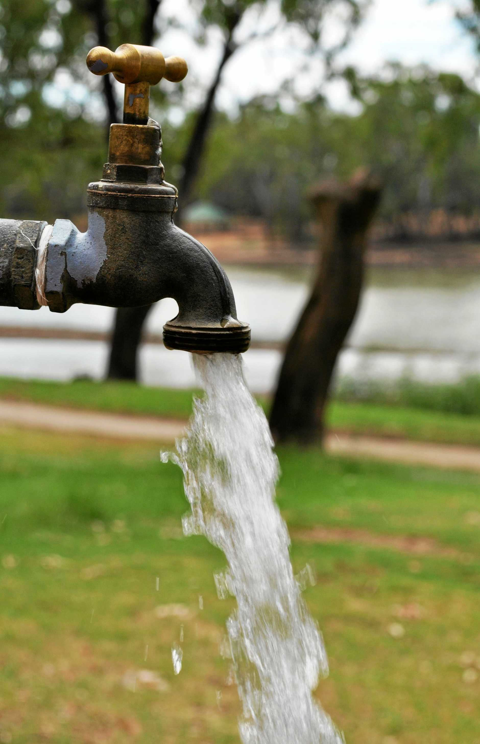 TURNING OFF THE TAP: Southern Downs residents will need to adhere to medium water restrictions from next week.