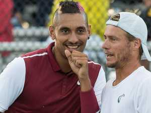 Aussie dream team: Hewitt, Kyrgios to play doubles