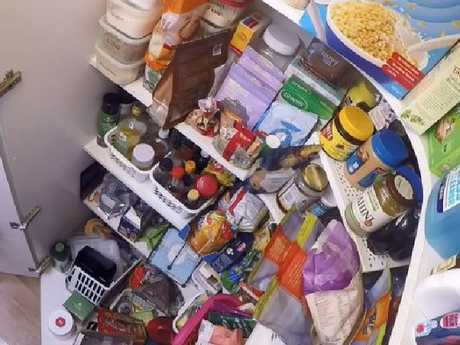 The Marshalls' pantry contains food worth $2000