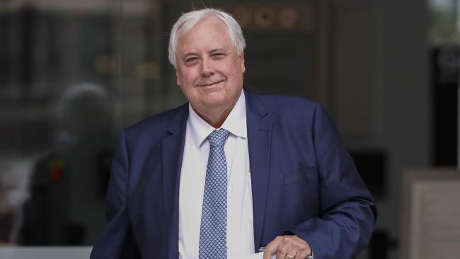 How many billions Clive Palmer's worth right now