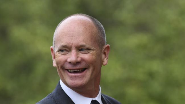 Former Queensland Premier Campbell Newman criticised the police response to a fatal crash in Brisbane's CBD, saying officers caused traffic chaos. Picture: AAP/Lukas Coch