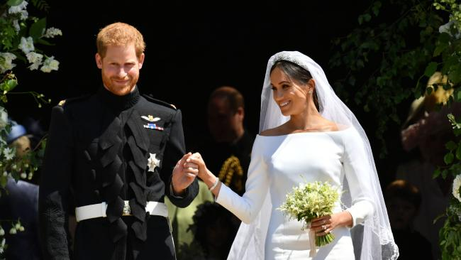 Prince Harry and Meghan Markle's wedding created many new fans of the monarchy. (Pic: Ben Birchall)