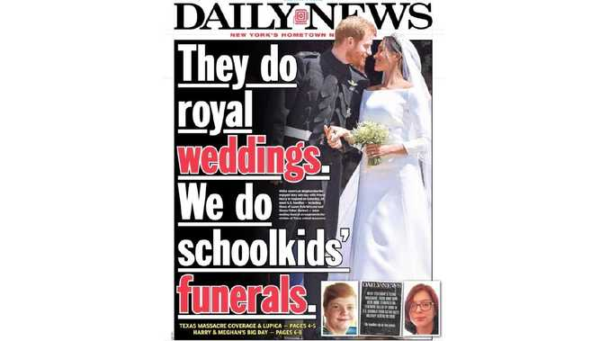 Sunday's New York Daily News front page has sparked outrage in the US and around the world.