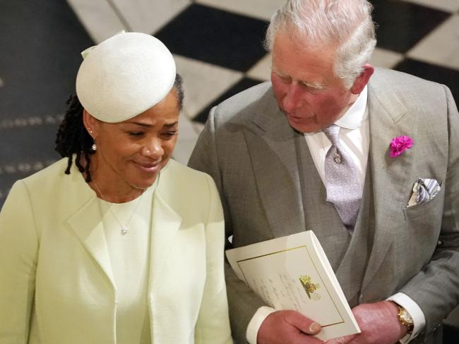 Prince Charles and Ms Ragland.
