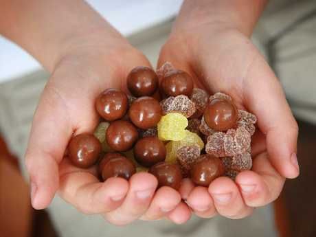 Gummies are disguised to look like lollies, multivitamins or chocolate.