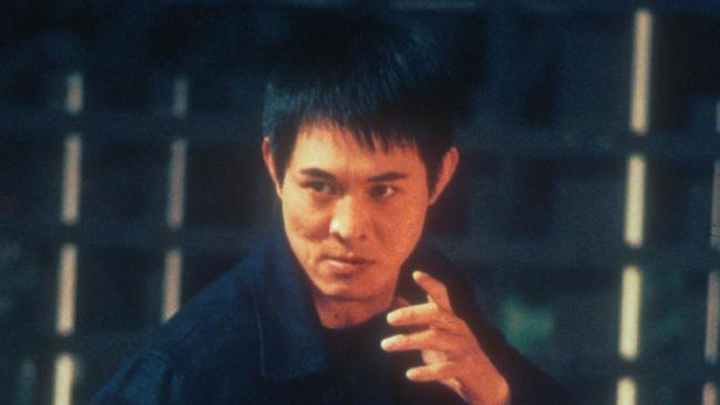 Jet Li in a scene from the movie Romeo Must Die.
