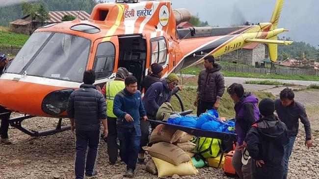 Two foreign climbers die while scaling world's highest peak, say Nepalese officials