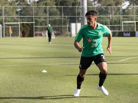 Socceroos youngster Daniel Arzani has one huge name in his sights in Russia.