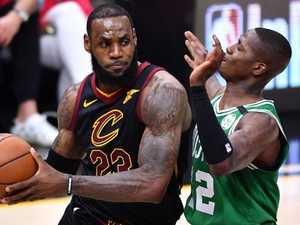 LeBron blows Boston away