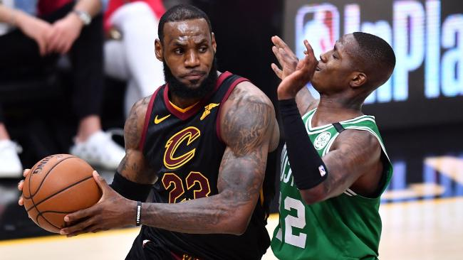 Once again LeBron James was the main man for Cleveland.