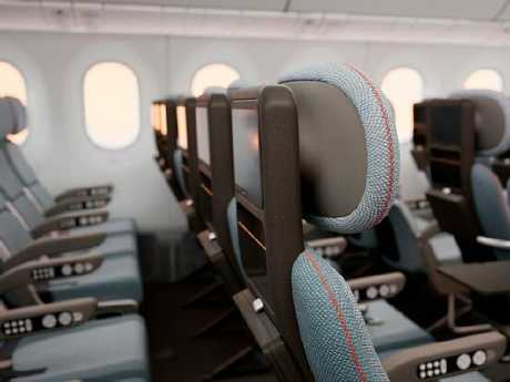 The new airline seat design. Picture: Neutral Digital, 2018