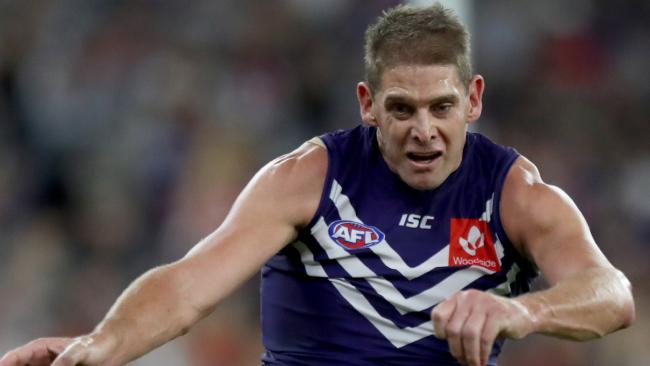 Aaron Sandilands could be back in action by Round 15. Pic: AAP