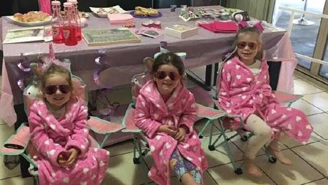 The girls loved their pamper day. Picture: Tammy Dennis