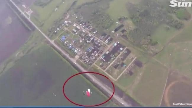 Two skydivers were killed as a result of a horrific mid-air collision.