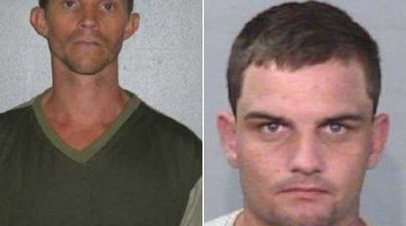Police are looking for Bruce Dyball and Luke Jones.