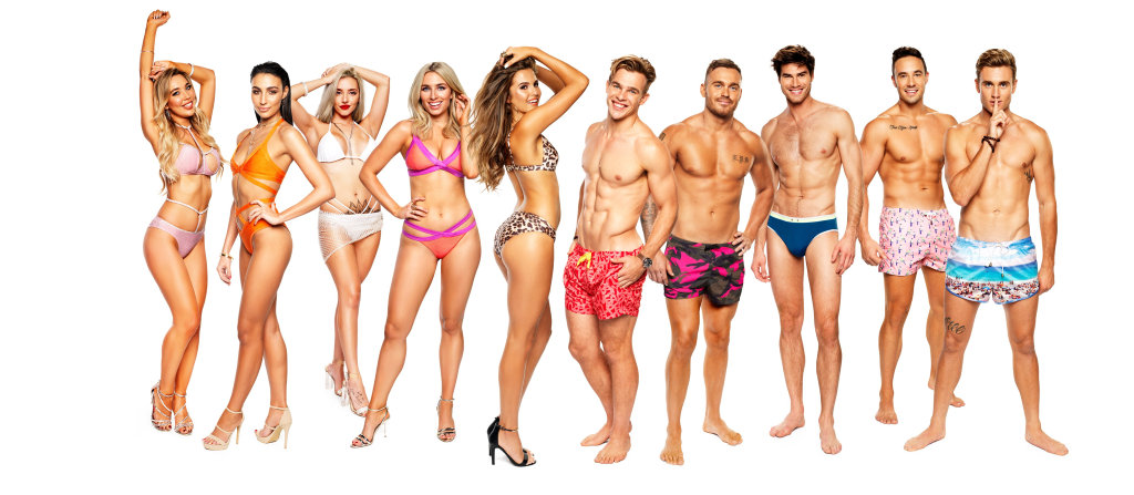 The cast of Love Island Australia.