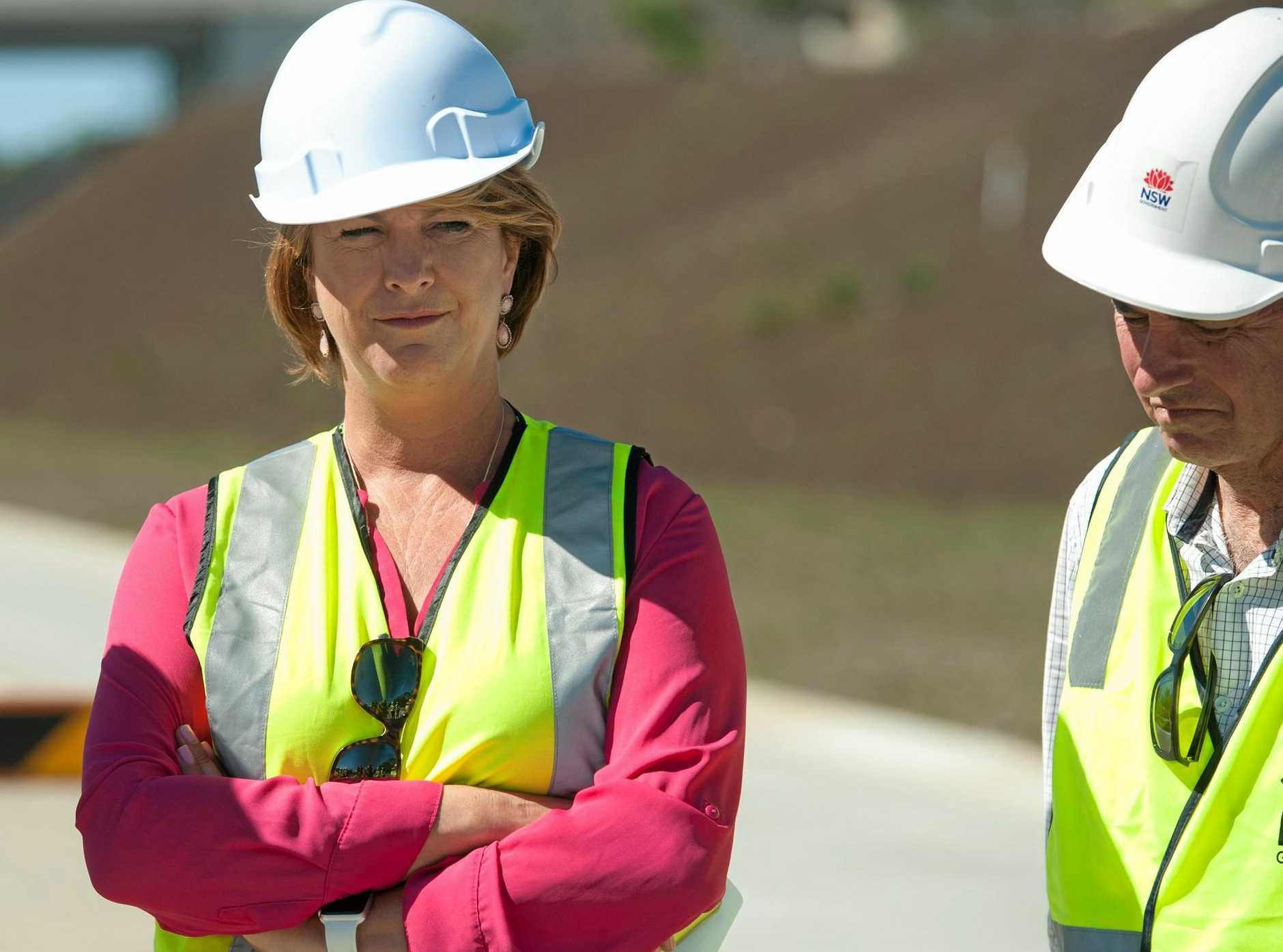 Woolgoolga to Halfway Creek Pacific highway upgrade opens at Corindi.Minister for Roads, Maritime and Freight Melinda Pavey,. 24 OCT 2017