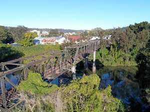 The 'invisible' bridge that will cost $1 million to fix