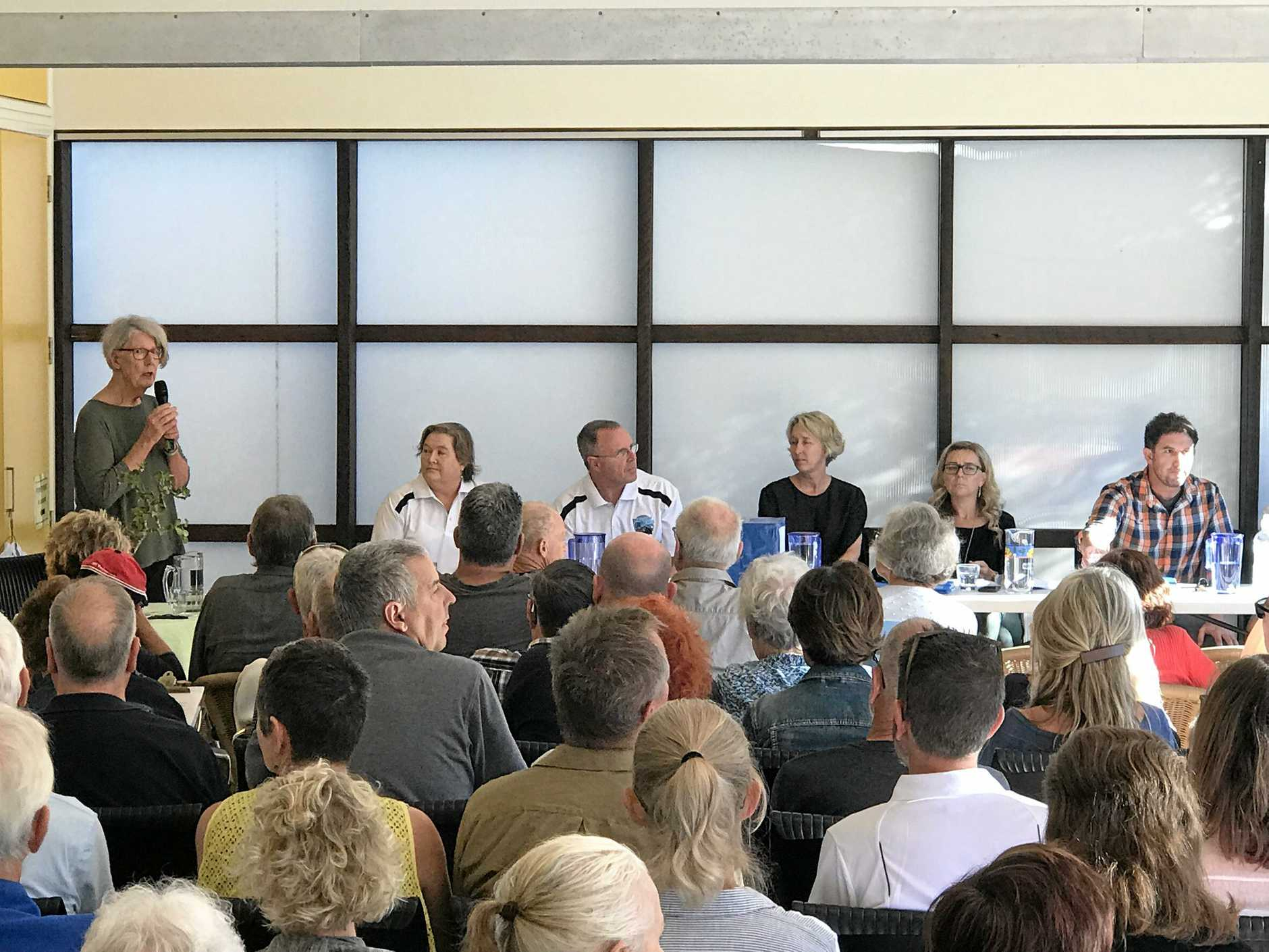 WHAT'S NEXT: Discussing the future of Peregian Beach Surf Club over the weekend.