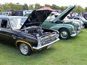 Kingaroy Scouts Show and Shine for the whole family