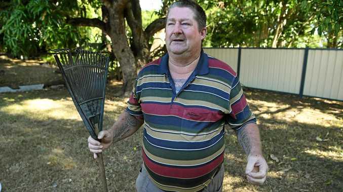 Hero granddad takes snake bite, saves granddaughter