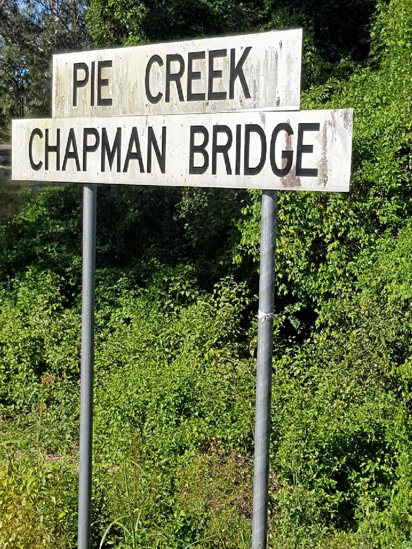 Chapman Bridge, Pie Creek
