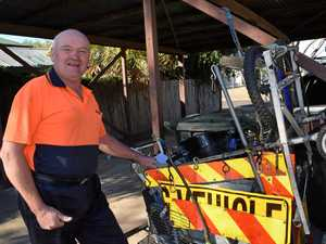 52 TONNES: Warwick's Rubbish Rambler cleans up