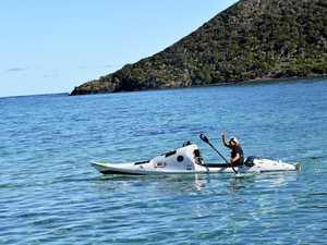 Trans-Tasman kayaker rides out rising seas