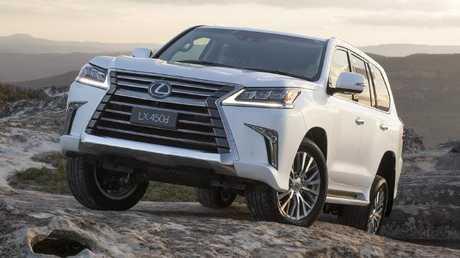 LX450d: Based on Toyota LandCruiser