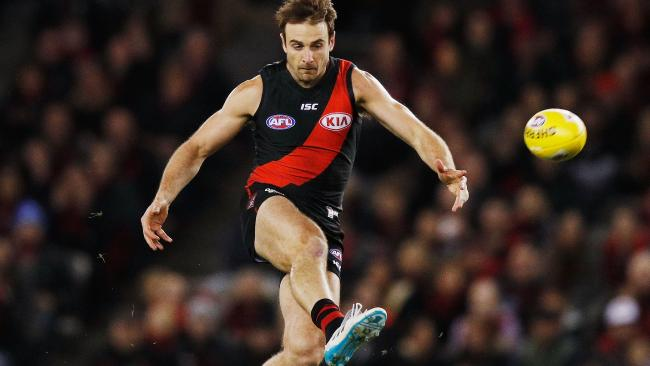 Jobe Watson in action during his final season with the Bombers. Picture: Getty Images