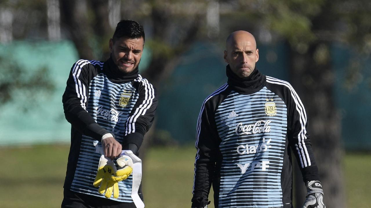 The injury to Sergio Romero means that Willy Caballero will most likely take over the number one spot for Argentina.