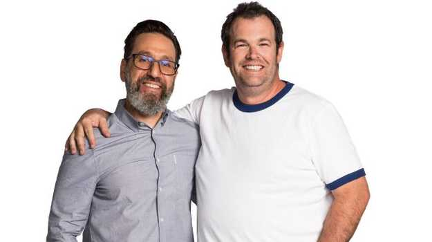 Be a man, hosted by Dr Tim Sharp and Gus Worland is a podcast looking at masculinity in Australia.
