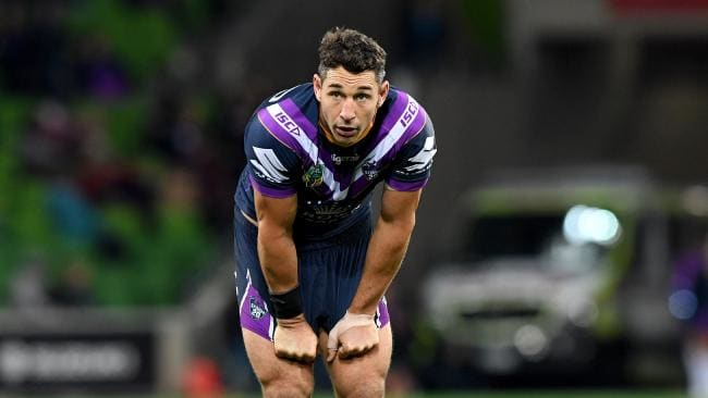Billy Slater will play his 30th Origin game at the MCG opener. Picture: AAP/Joe Castro