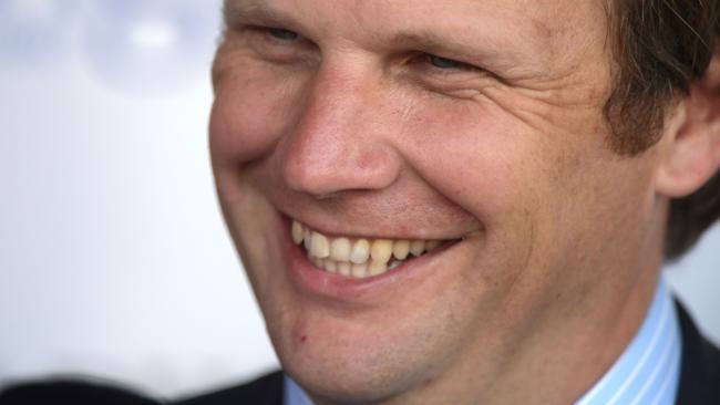 Trainer Bjorn Baker is keen for Champagne Cuddles to run in the Stradbroke. Picture: Simon Bullard