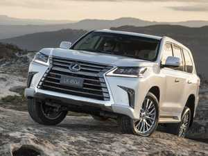 Diesel 'borrowed' from LandCruiser for flagship Lexus LX SUV