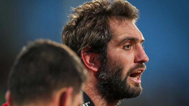Sam Whitelock led the way for the All Blacks.