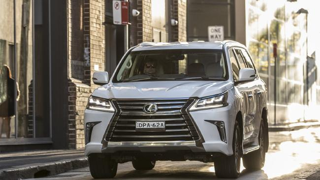 Lexus LX450d 450d (introduced in March 2018). Pict