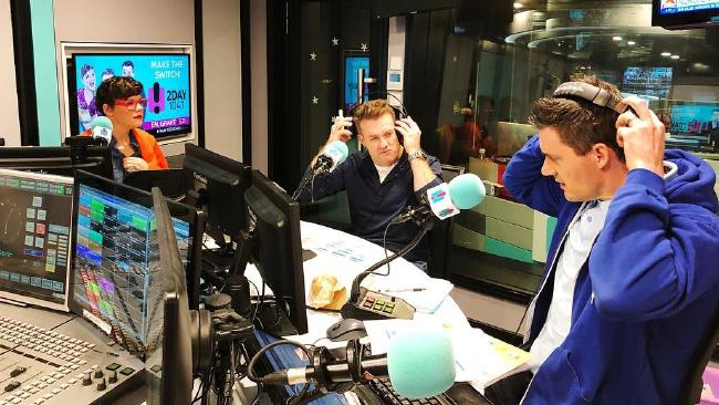 Em, Ed and Grant host the 2Day FM breakfast show.