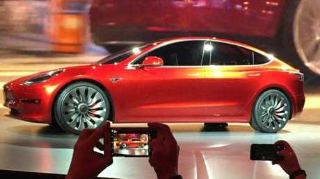 It's the car which promises to save the financials of Tesla. But can it? Picture: Justin Pritchard