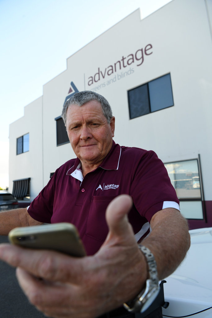 NOT HAPPY: Local businessman Terry Tempest is upset with the recent Telstra service.