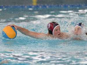 Water Polo - Queensland Black player Sean McDonald in