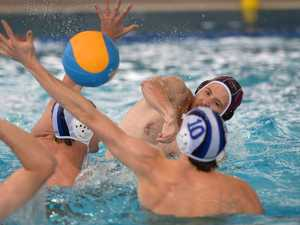 Water Polo - Queensland Black player Sean Springs in