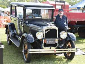 Fraser Coast Show 2018 - Keith Elliott with his 1925